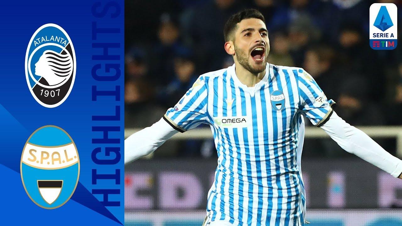 Atalanta 1 2 Spal Petanga Valoti Cancel Out Atalanta Opener Serie A Tim Youtube