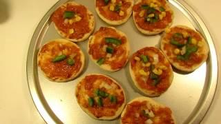 mini pizza recipebangladeshi mini pizza