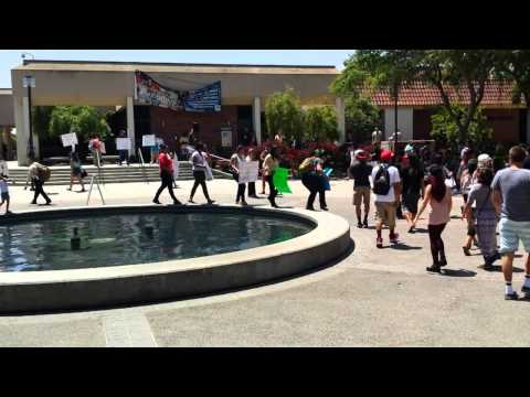 Fresno City College Flash Mob Against Domestic Violence 5/15/14
