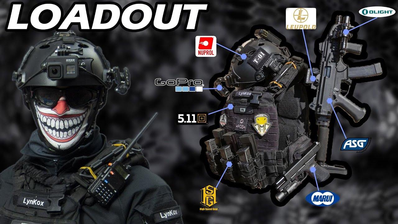 AIRSOFT  ✔ Mon équipement | Lynkox