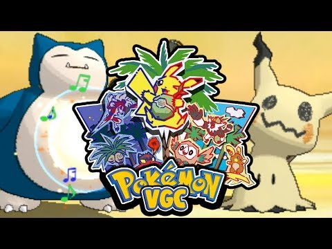 ¡SNORLAX CON TAMBOR ES DIOS! Pokémon Sol y Luna VGC: COMBATE