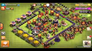 Clash of clans eğlenceli saldırılar bölüm 1