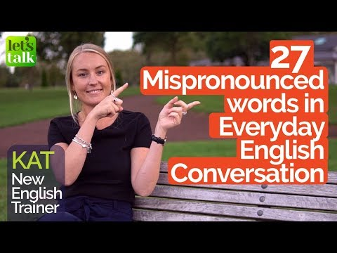 Top 27 Mispronounced Everyday Words | English Pronunciation Practice | Improve Accent |Speak Clearly