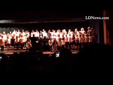 Northern Lebanon Middle School Chorus performs Carol of the Bells during the annual Christmas Concer