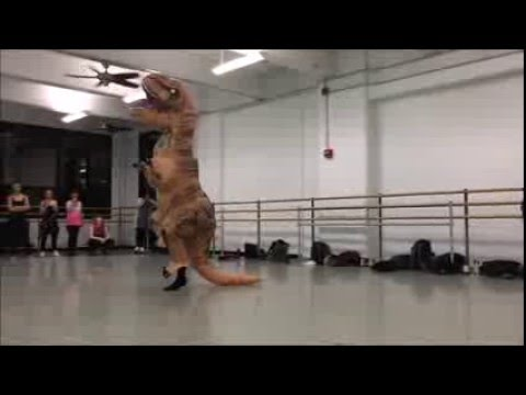 T-Rex does A Chorus Line
