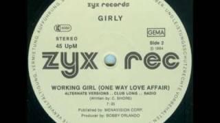 Girly - Working Girl ( Alternative version - Club Long - Radio)