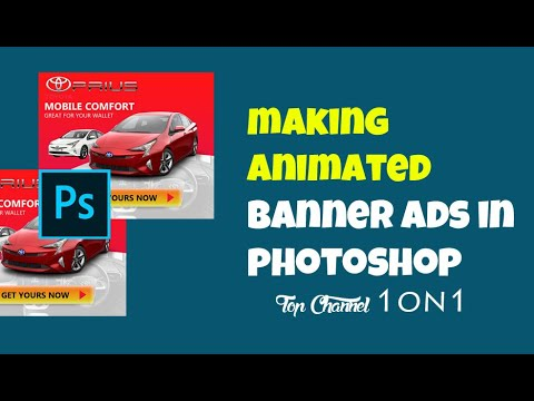 how to make animated photoshop banner ads designing the ad