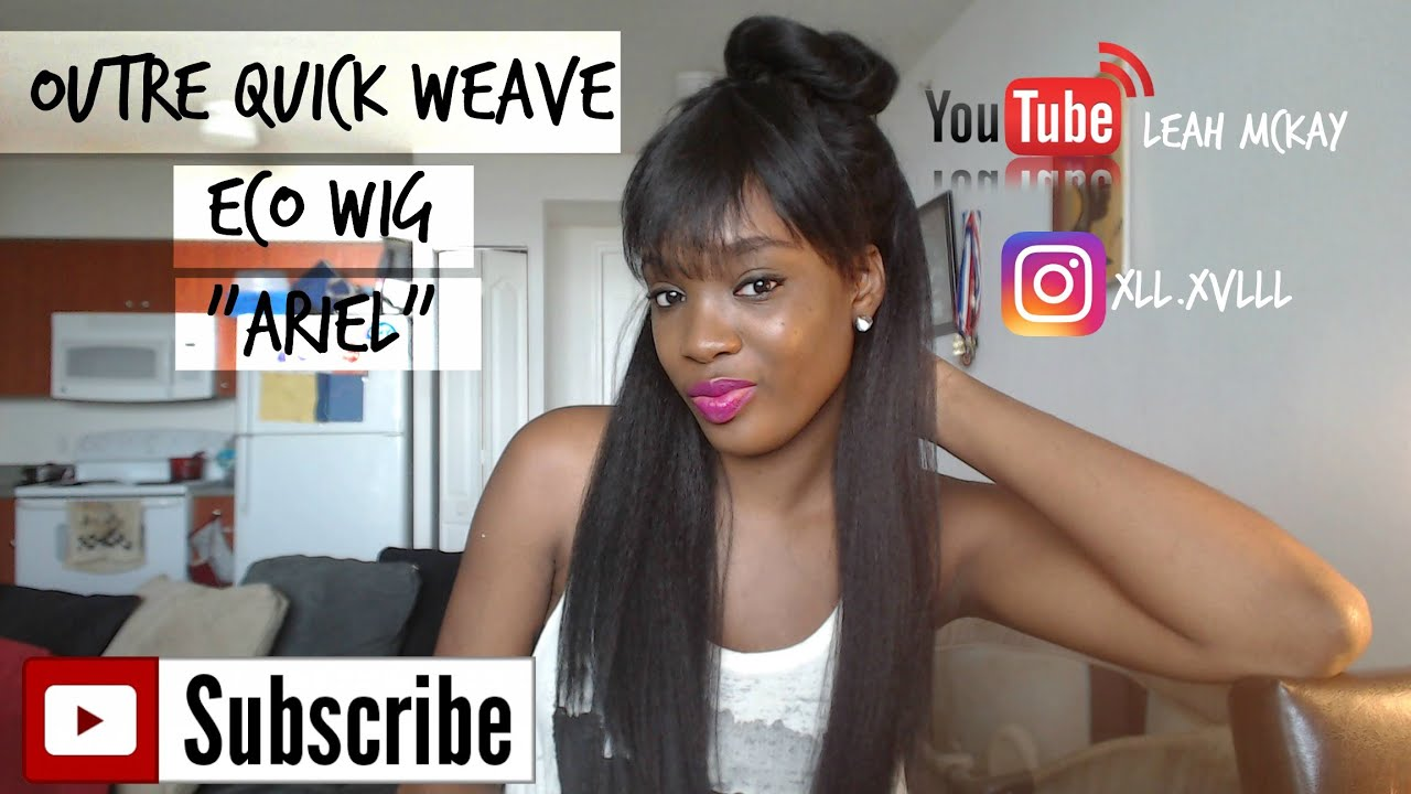 Outre quick weave ego wig ariel review youtube outre quick weave ego wig ariel review pmusecretfo Gallery