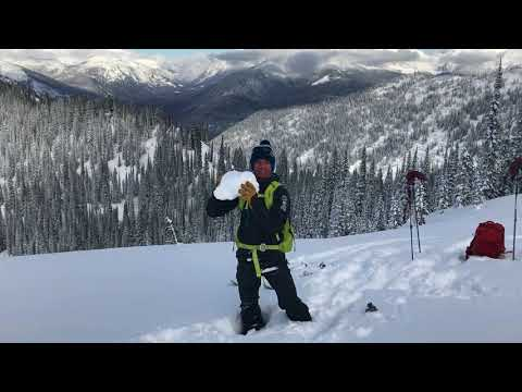 February 9, 2018. Cold air to the Rescue, Flathead Range
