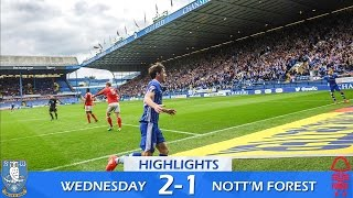 Sheffield Wednesday 2 Nottingham Forest 1 | Extended highlights | 2016/17