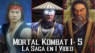 Mortal Kombat: La Saga en 1 Video (PARTE 1)