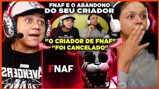 MINHA MÃE REAGINDO AO FNAF E O ABANDONO DO SEU CRIADOR | Diggo