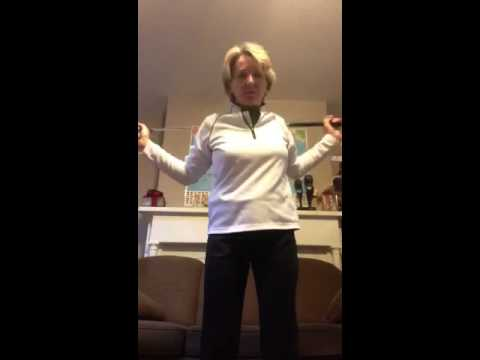 Golf stretching video