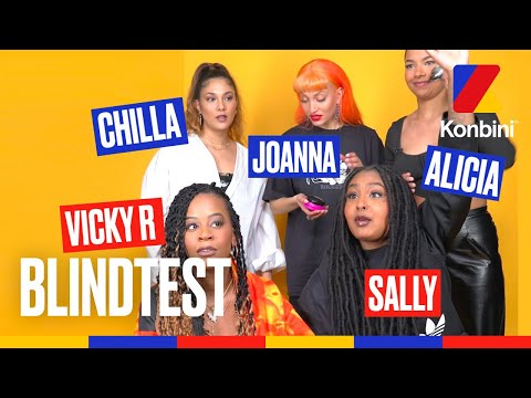 Youtube: Blindtest : Alicia, Chilla, Joanna, Sally et Vicky R s'affrontent sur une playlist 100% féminine