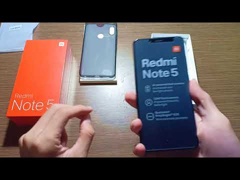 Xiaomi Redmi Note 5 Pro 4GB / 64GB GLOBAL VERSION | Unboxing