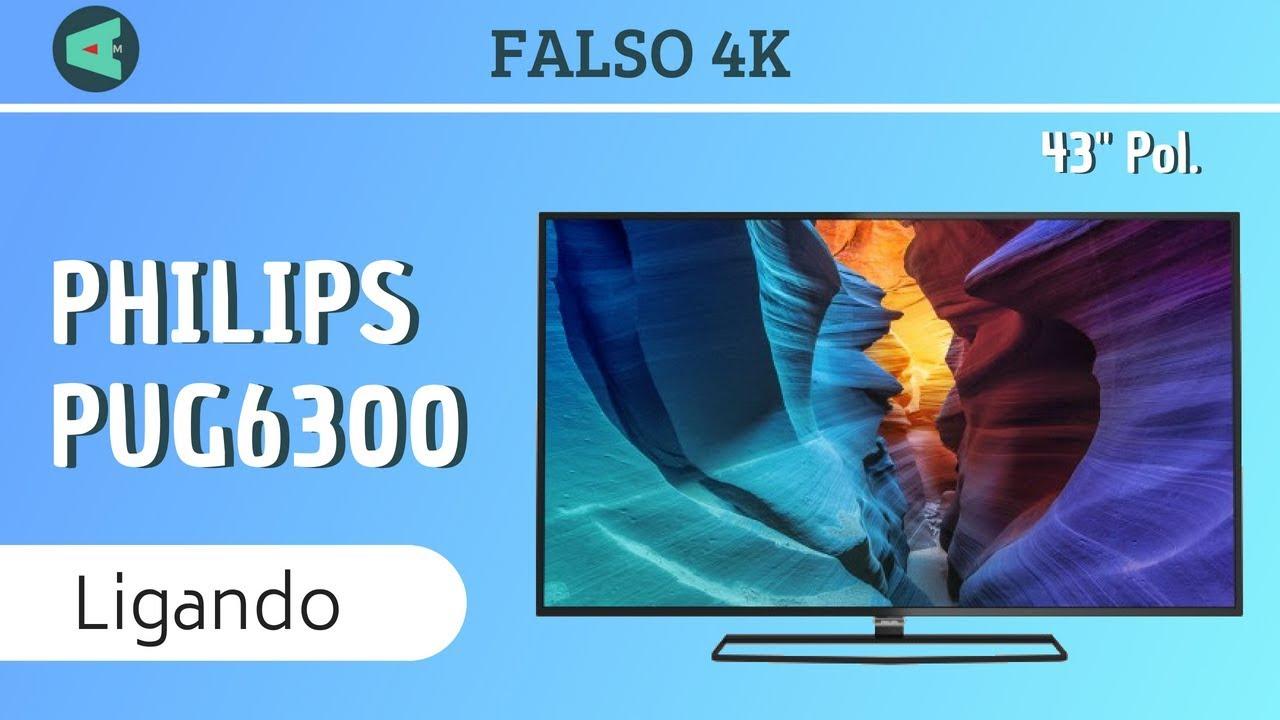 Ligando a Smart Tv Phillips 40   4k 40PUG6300 78 - YouTube a99da9c75157