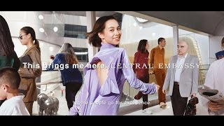 Behind the scenes: Kiko Mizuhara in This Brings Me Here Campaign by Central Embassy