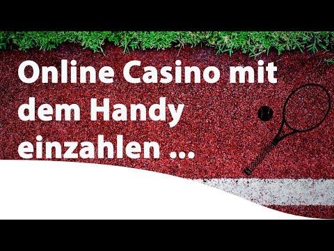 Online Casino mit dem Handy einzahlen und spielen
