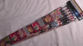 Weco Feuerwerk - Space Rangers Familiensortiment