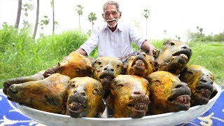 10 Goat Head's Recipe | Traditional Lamb Head curry | Easy Goat Head curry by Grandpa Kitchen