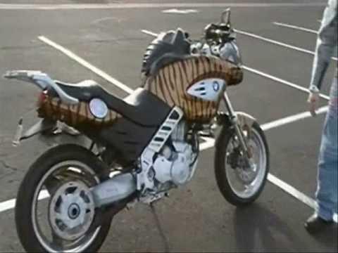 Bmw f650 cs modifications and customizations youtube