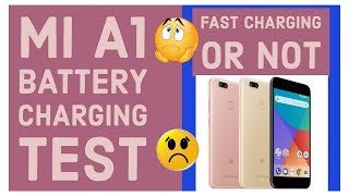Mi A1 Battery Charging Test Time | No Fast Charging? | M Talks | Hindi