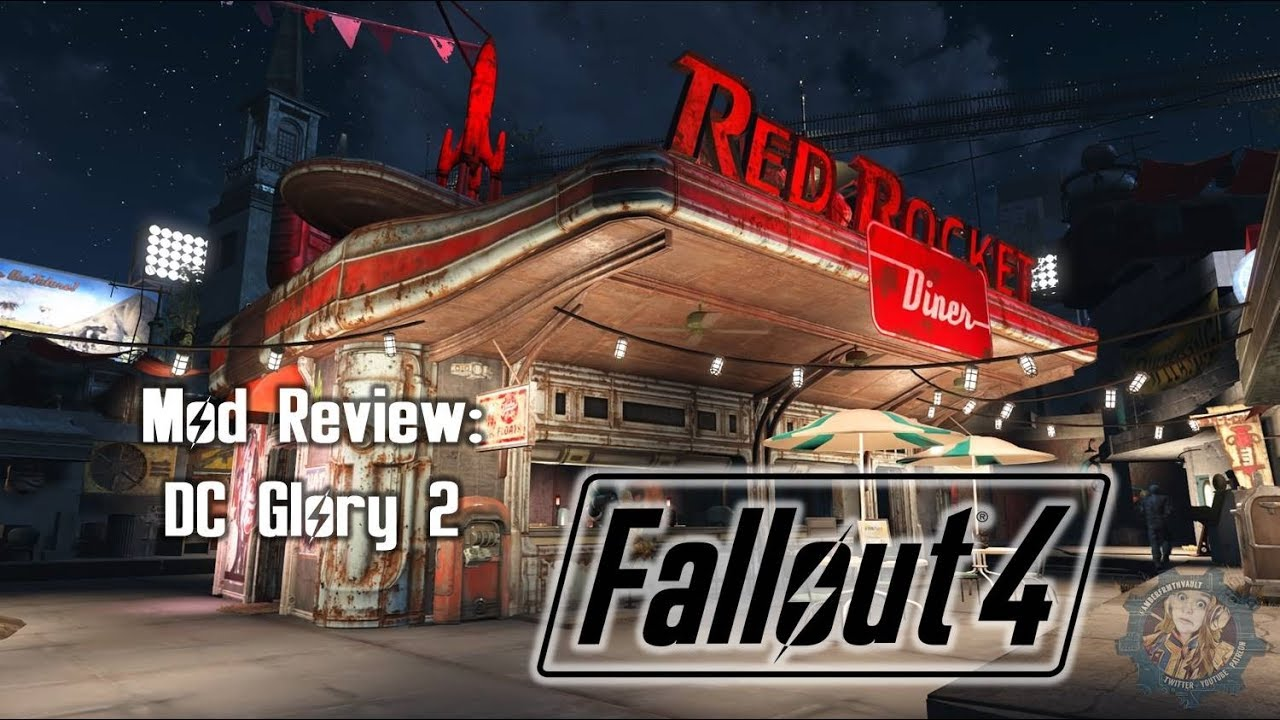 Glory Quest Mad throughout fallout mod review: dc glory 2 - youtube
