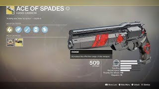 DESTINY 2 ACE OF SPADES QUEST FINALE - Ace in the Hole
