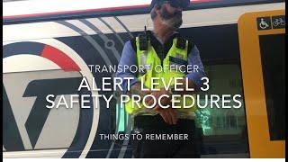 Safety Procedures in Alert Level 3 Lockdown Mode for Transport Officer