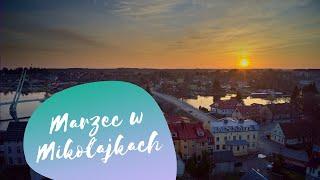 Marzec w Mikołajkach | Zachód słońca