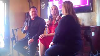 Bethany Caudill preforming and being interviewed on tv  Nashville Entertainment Weekly iNashville TN