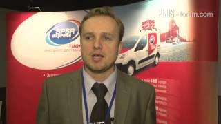 Alexey Zhukov, SPSR Express / Алексей Жуков, СПСР Экспресс(Интервью, данное в рамках Международного ПЛАС-Форума «Online & Offline Retail 2014», 31 марта, Москва, Форум Холл / An interview..., 2014-04-29T07:27:59.000Z)