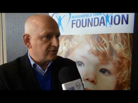 WATCH: Find out about the relaunch of the Huddersfield Town Foundation