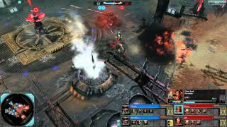 Dawn of War 2: Retribution - 2v2 | Faction Battle - Imperial Guard [vs] Chaos | 1