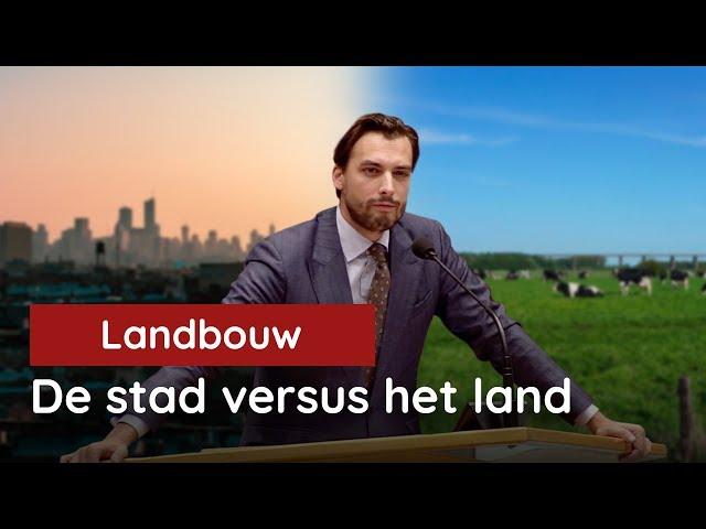 De stad versus het land. De moties