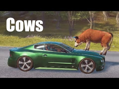 Just Cause 3: Cows