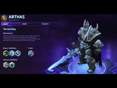 Heroes of the Storm - Arthas Guide