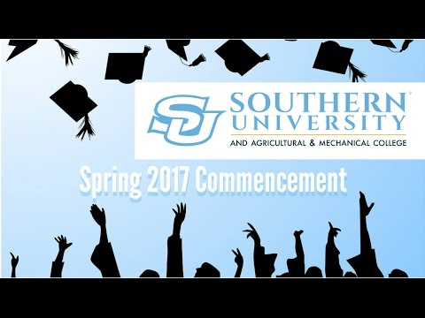 Southern University and A&M College Spring 2017 Commencement