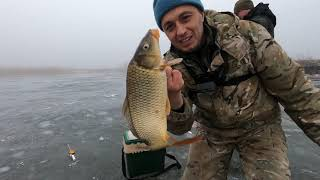 КАРАСИ и КАРПЫ утягивают удочки, РВУТ снасти и ЛОМАЮТ мормышки!!! Зимняя рыбалка 2021 на карася...