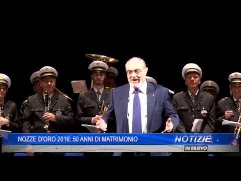 Youtube 50 Anniversario Di Matrimonio.Nozze D Oro 2016 50 Anni Di Matrimonio