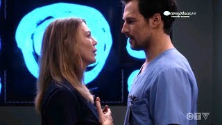 Grey's Anatomy 15x08 Deluca Tells Meredith He's Interested in Her - Mer accepts Link Invitation