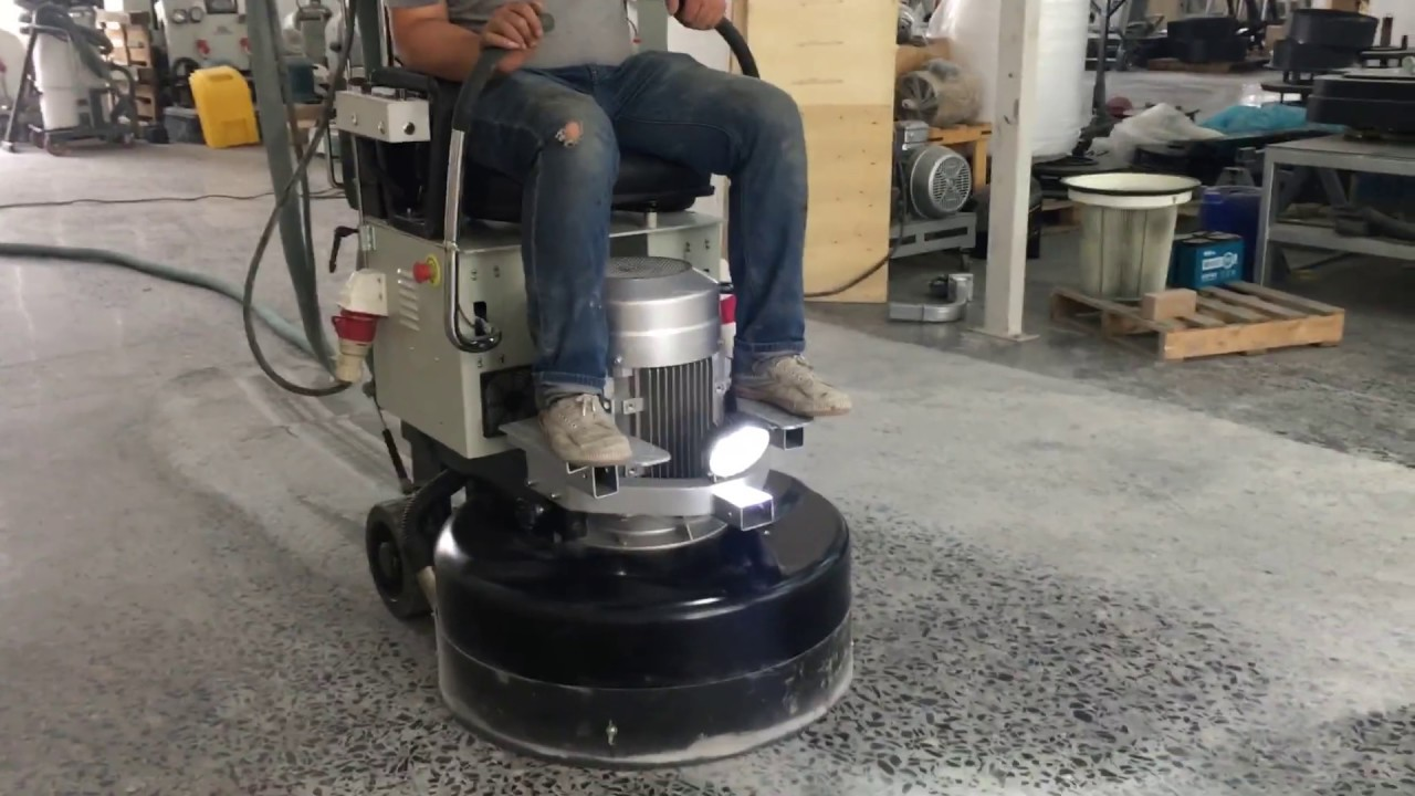 Asl Ride On Concrete Floor Grinding Machine