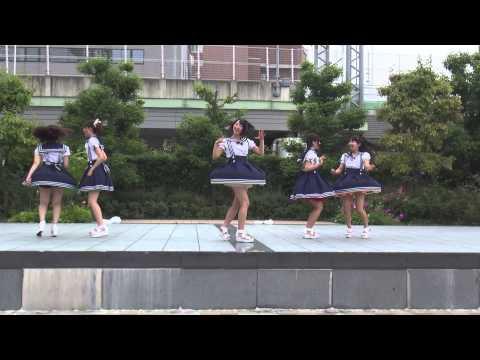 Cotton Candy (京都女子大学)「パレオはエメラルド (SKE48)」「世界一HAPPYな女の子 (℃-ute)」2015/07/05