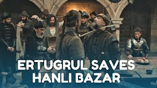 Ertugrul saves Hanli Bazar and teaches Bahadir a Lesson he will never forget |  Clip from Season 4