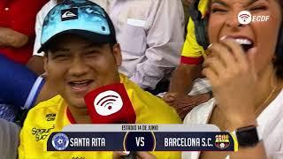 Copa Ecuador  Santa Rita Vs Barcelona Sc  8avos De Final  Vuelta