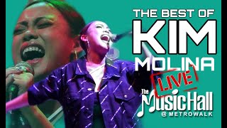 Best of KIM MOLINA Live at The MusicHall!