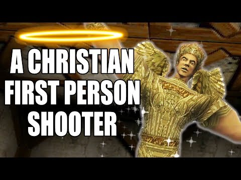 A First Person Shooter But It's A Christian Game