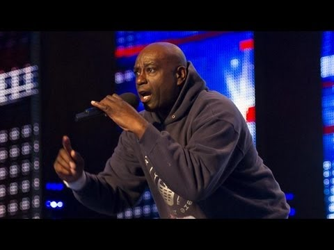 "Zipparah, Mr Zip, ""Where me keys, where me phone"" - Britain's Got Talent - International version"