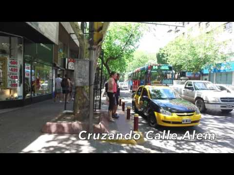Calles y Paisajes de Mendoza, Argentina. Streets and places in Mendoza Argentina.