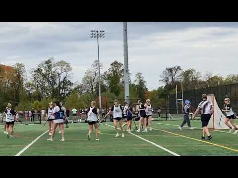 #4 Trinity Skidmore Glenelg Country School w/ dominating power on shots from the 8 October 24, 2020